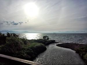 1-彦根から琵琶湖