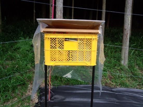 2-電気柵の本体